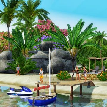 Симс 3 Райские Острова