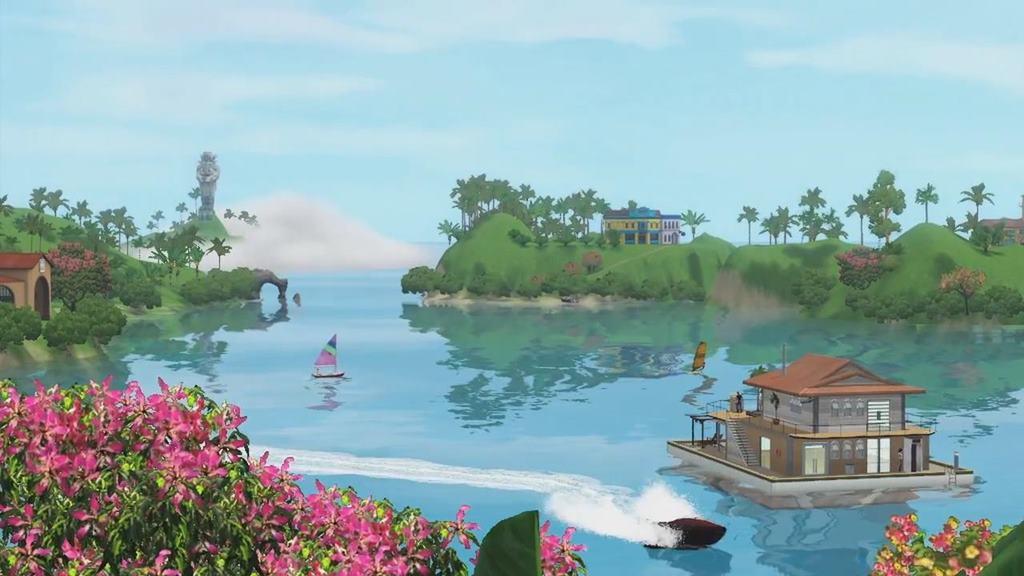 Симс 3 райские острова скачать - 3846