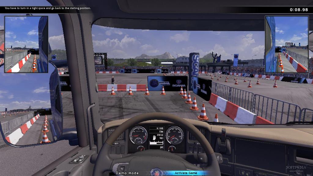 Scania Truck Driving Simulator - The Game скачать торрент