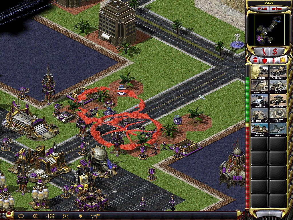 Скриншоты игры Ред Алерт 2.