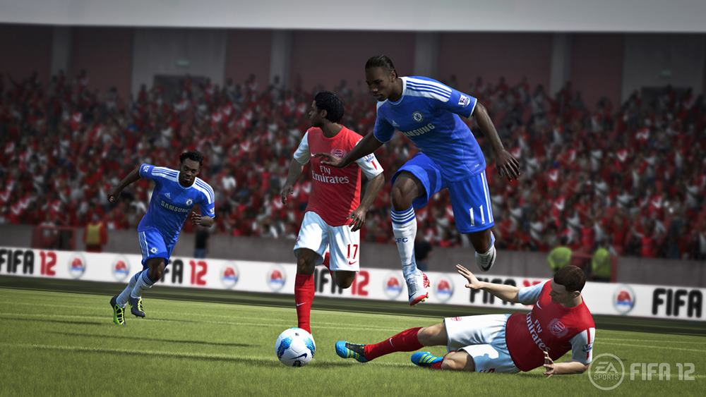 Скачать игру ФИФА 12 бесплатно на компьютер.