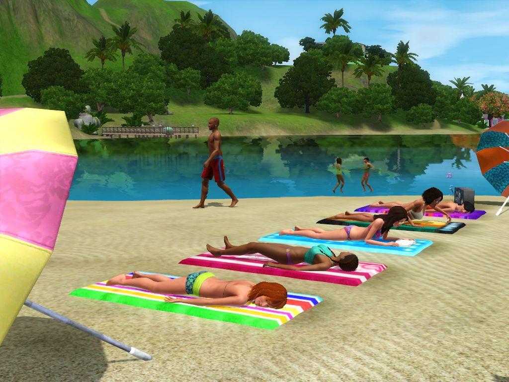 Обзор дополнения the sims 3 райские острова сайта simtimes.