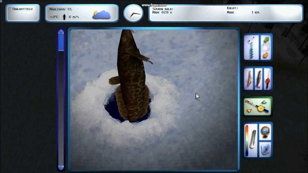 зимняя рыбалка видео  торрент